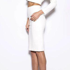 Charlotte Russe High Waisted Long Pencil Skirt